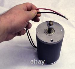 1.5 hp / 110 high Volt Electric Motor DC/ac 4500 RPM 1100 Watt Light Weight