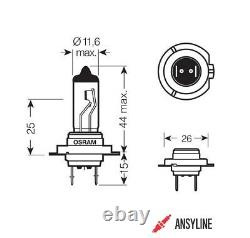 100x OSRAM HALOGEN-LAMPE H7 SET ORIGINAL LINE BIRNE AUTOLAMPE LAMPE PX26d 64210