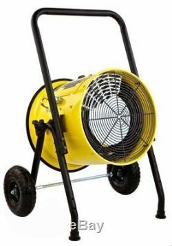 15000-Watt, Single Phase, 240-Volt Portable Fan Forced Electric Heater