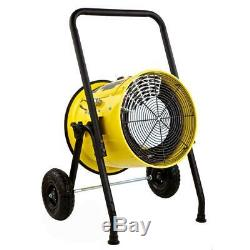 15000-watt salamander construction single phase 240-volt portable fan force