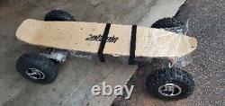 1600 Watt Dirt Electric Skateboard With Dual Motors 36 Volt Battery
