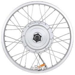 20 IN 36 Volt 750 Watts Electric Bike Motor Fat Tire Kit Front Wheel US Stock