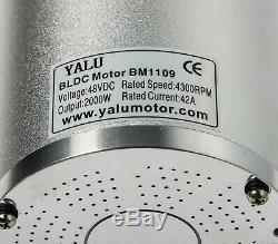 2000W Watt 48V Volt BLDC electric Brushless GoKart motor BOMA Style w Controller