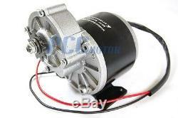 24V 350W Electric Motor With Gear 9T Sprocket 24 Volt 350 Watt MY1016Z3 I ST11