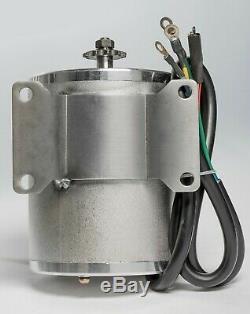 2500W Watt 60V Volt BLDC electric motor w Base BOMA BM1024 T8F sprocket GoKart