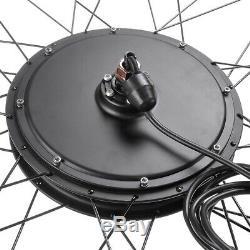 26Inch 48 Volt 1000 Watts Electric E Bike Motor Conversion Kit Front/Rear Wheel