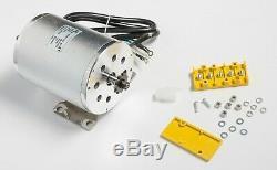 3000W Watt 72V Volt BLDC electric motor w Base BOMA BM1024 T8F sprocket GoKart