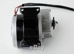 350 Watt 24 Volt electric motor kit f GoKart gear 1/2 w Batteries & Controller