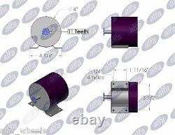 350 Watt 24 Volt electric motor kit w speed controller Thumb Throttle & charger