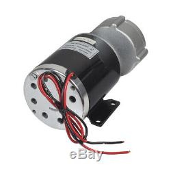 36 Volt 600 Watt Gear Reduction Electric Motor with 10 Tooth #40 Chain Sprocket