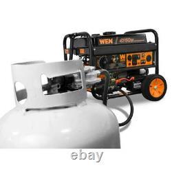 4,750/3,800-Watt 120-Volt/240-Volt Dual Fuel Gasoline and Propane Powered Electr