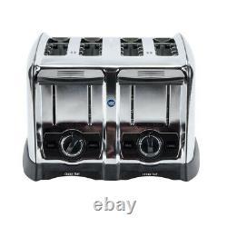 4 Slice 1,650 Watt Commercial Restaurant NSF Electric Toaster 120 Volt
