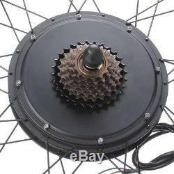 48 Volt 1000 Watts Electric Bike Hub Motor Brushless Engine Kit Rear Wheel