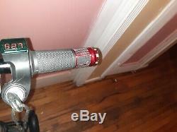 48 Volt 500 Watt 3 Wheel Electric Foldable Tricycle Scooter, Disc Brakes, KeyStart