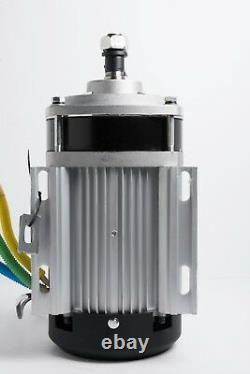 72 Volt 2200 Watt Electric GoKart Brushless Motor Gear 585-600 RPM w Controller