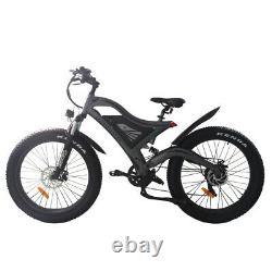 750 Watt 48Volt Aostirmotor Full Suspension Electric Bike