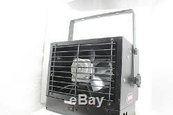 7500 Watt 240 Volt Electric Garage Heater Rugged Ceiling Mount Utility Warmer