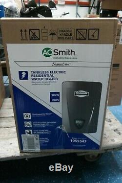 AO Smith Signature 240-Volt 18 K-Watt 1.6-GPM Tankless Electric Water Heater