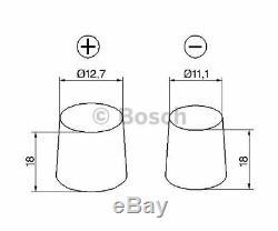 BOSCH Starter Battery S4 0 092 S40 190