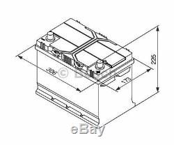 BOSCH Starter Battery S4 0 092 S40 280
