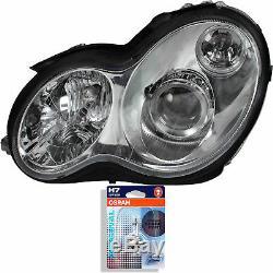 Bi-Xenon Headlight Left Mercedes C-Class W203 05.00-02.07 Incl. Osram