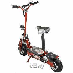 Big Power 1000 Watt Rechargeable Battery Electric Scooter BMX Seat Horn Light