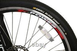 Black Rubicon 500 Watt 48 Volt High Power Long Range Electric Mountain Bicycle