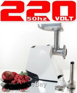 Braun G 3000 220 Volt Meat Grinder Mincer 1500 Watt 220v 240V 50Hz Power Cord