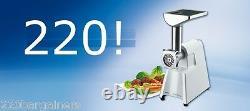 Braun G1300 220 Volt 1300 Watt Powerful Meat Grinder 220v EU European Plug