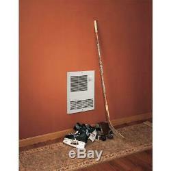 Broan Electric Wall Heater 1000-Watt 120/240-Volt High Capacity Fan-Forced White