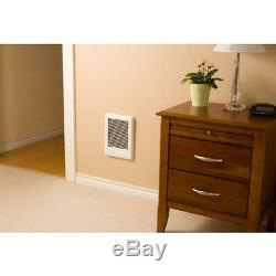 Cadet 1500-Watt 120-Volt Electric Wall Mounted Heater Thermostat Bathroom Space