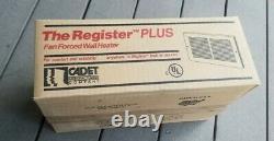 Cadet 63227 EnergyPlus 2000-Watt 240/208-Volt In-Wall Electric Wall Heater Z202