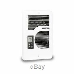Cadet CEC163TW 5120 BTU Multi-Watt Multi-Volt Wall Mounted Electric Heater with
