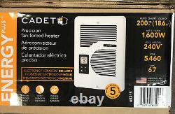 Cadet CEC163TW EnergyPlus 1600-Watt 120/240-Volt In-Wall Wall Heater 65215