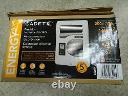 Cadet CEC163TW EnergyPlus 1600-Watt 120/240-Volt In-Wall Wall Heater 65215 NIB