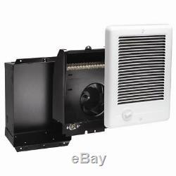 Cadet Com-Pak 2,000-Watt 240-Volt Fan-Forced In-Wall Electric Heater in White