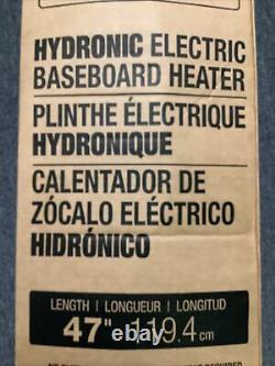 Cadet Electric Hydronic Electric Baseboard Heater 47 in. 750-Watt 240-Volt