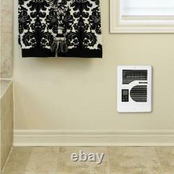 Cadet Electric Wall Heater 120/240-Volt 1600-Watt Thermostat White