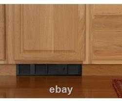 Cadet Electric Wall Heater 120-Volt 1,000-Watt Under-Cabinet Thermostat Black