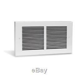 Cadet Register Multi-Watt 240-Volt In-Wall Fan-Forced Heater in White RMC162W