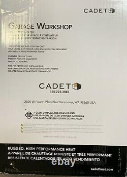 Cadet The Hot One Electric Garage Portable Space Heater 4000-Watt 240-Volt