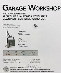Cadet The Hot One Electric Garage Portable Space Heater 4000 Watt 240 Volt New