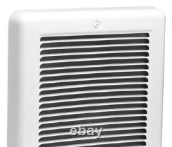 Cadet Wall Heater 9 in. X 12 in. 1500-Watt Electric 120-Volt Fan-Forced White