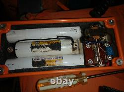 Canadian General Electric Manpack High Frequency Radio AN/PRC 502 1 watt 12 volt
