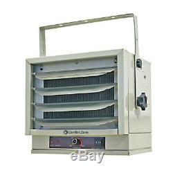 Ceiling Mount Electric Heater Fan Forced 5000 Watt Portable 240 Volt Convection