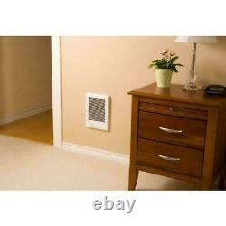 Com-Pak Plus 1500-Watt 120-Volt Fan-Forced In-Wall Electric Heater 9''W x 12''H