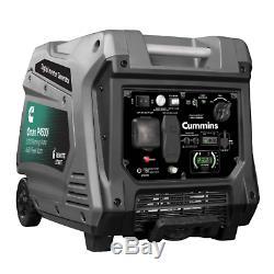 Cummins Onan P4500i Portable Gas Generator 4500 Watt 120 Volts + Electric Start