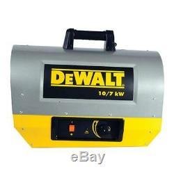 DEWALT 10,000-Watt 240-Volt Forced Air Electric Heater