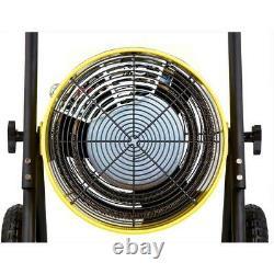 Dr Infrared Heater 15000-Watt Salamander Single Phase 240-Volt Portable Fan