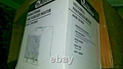 Dr Infrared Heater 240-Volt 5600-Watt 11.5 in. L Garage Workshop Portable Basebo